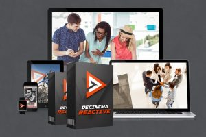 Download Template PowerPoint Decinema Reactive