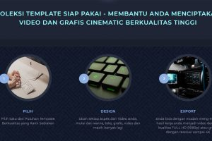 Download Template PowerPoint Levidio Cinemagic