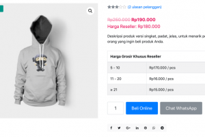 Plugin WooCommerce Harga Reseller WordPress